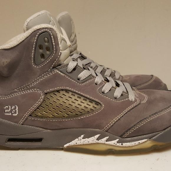 d55f46b77dc56a Jordan Other - Air Jordan Wolf Grey 5 GS Youth Size 6y